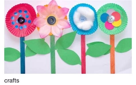 paper plate flower craft paper plate flowers preschool crafts