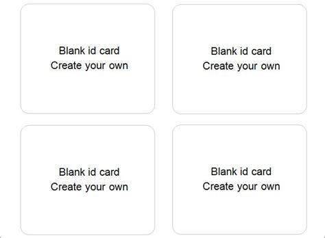 make your card for free 30 blank id card templates free word psd eps formats