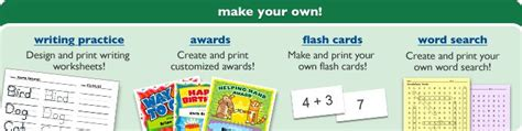 make my own flash cards make your own writing worksheets awards flash cards
