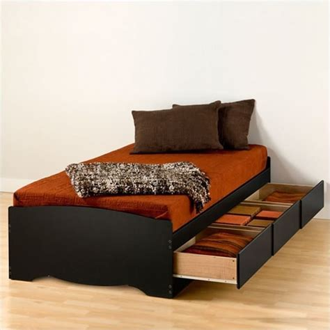 what is a xl bed prepac sonoma black xl platform storage bed with