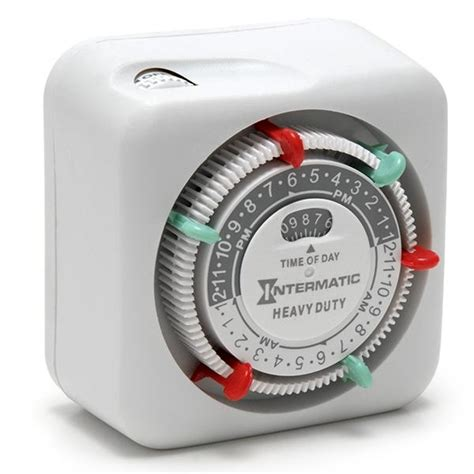 outdoor light timers intermatic heavy duty mechanical timer landscape