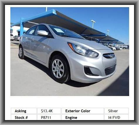 2012 Hyundai Accent Mpg by 2012 Hyundai Accent Gls Sedan Cupholders Front Fuel