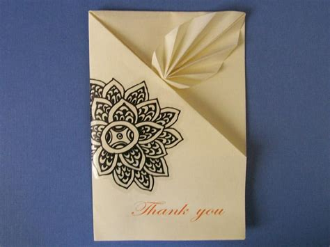 thank you origami 9 ideas for easy thank you cards