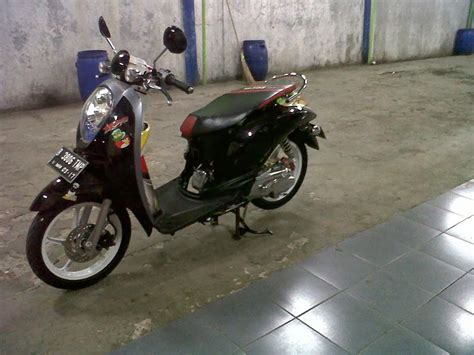 Modifikasi Motor Scoopy by Gambar Modifikasi Motor Honda Scoopy Terbaru Modifikasi