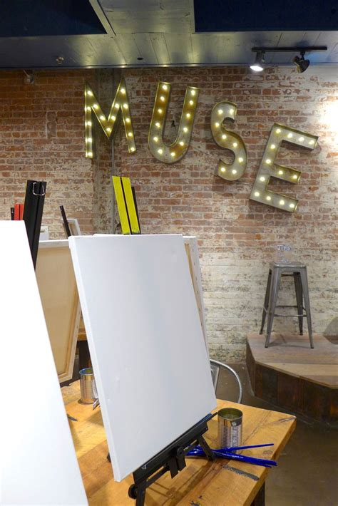 muse paintbar new york ny tribeca citizen new kid on the block muse paintbar
