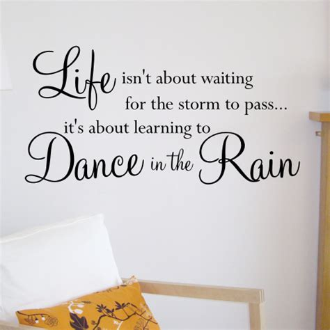 quotes wall sticker in the wall quote sticker wa506x