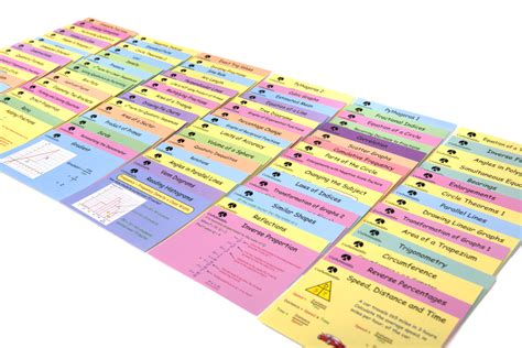 make your own revision cards revision cards corbettmaths