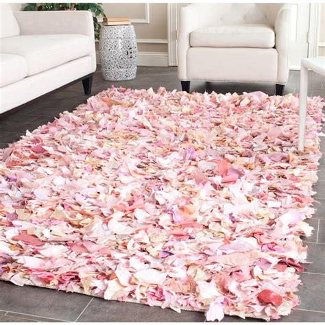 pink shag rug safavieh shag ivory pink 4 ft x 6 ft area rug sg951p