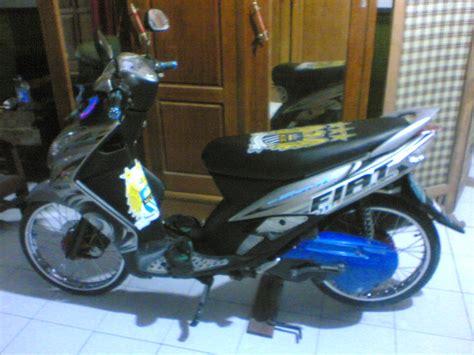 Modifikasi Mio Sporty Ban Kecil by Modifikasi Mio Soul Ban Kecil Modifikasi Motor Kawasaki