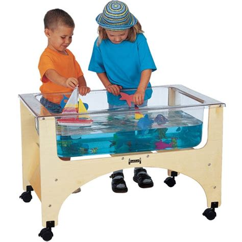 water sensory table jonti craft see thru sensory table 2871jc lowest price