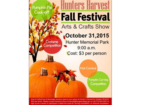 fall festival crafts for hunters harvest fall festival and arts and crafts show