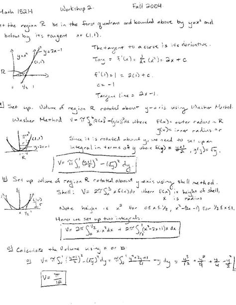 to calculus workshop 3 ps file pdf file and tex file solution to