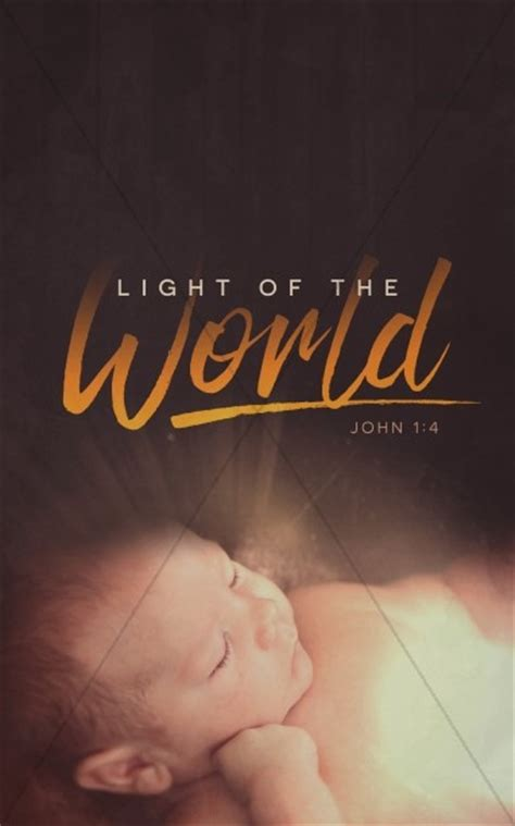 world light covers light of the world church bulletin