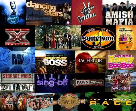reality show what are the types of reality tv shows auditions miami