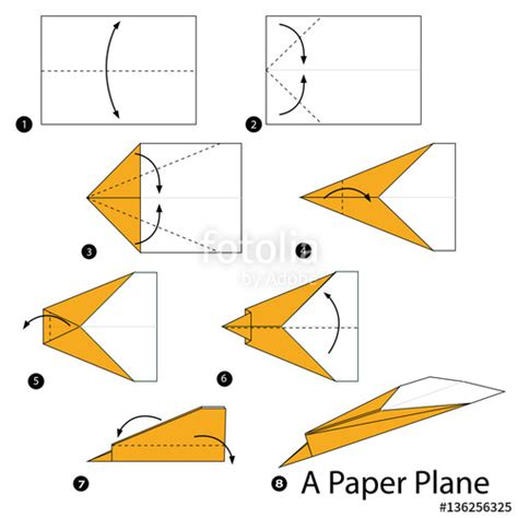origami stunt plane quot step by step how to make origami a paper