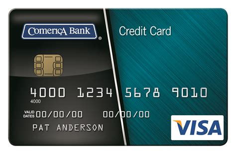 how to make a visa card comerica credit card comerica