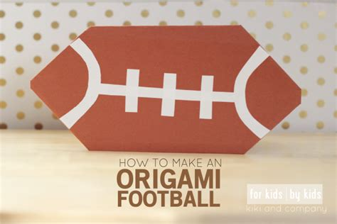 origami football origami football for by project 1 company