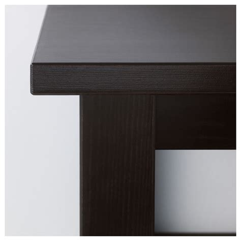 hemnes coffee table black brown hemnes coffee table black brown 118x75 cm ikea
