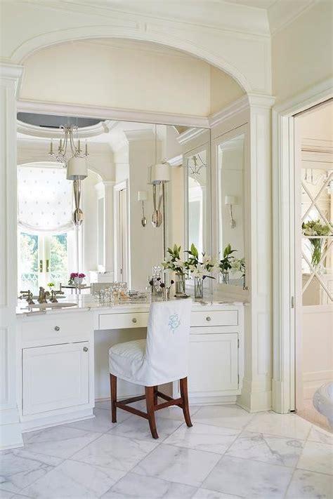 makeup vanity in bathroom built in makeup vanity traditional bathroom jan