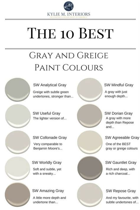paint colors in the gray family greige paint gray and warm on