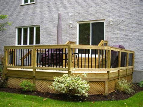 narrow backyard design ideas small patio decks small backyard deck design ideas small