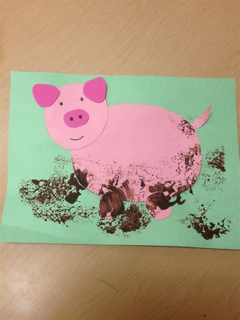 pig crafts for quot julius quot craft add literary response to back teaching