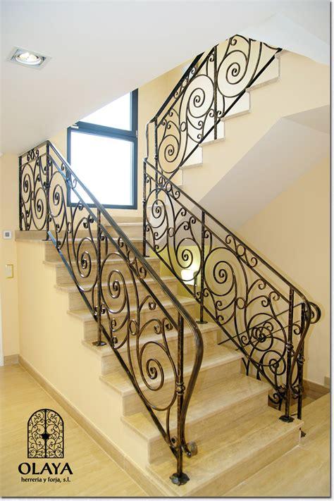 barandillas de forja para escaleras de interior barandillas de forja madrid olaya herrer 237 a y forja