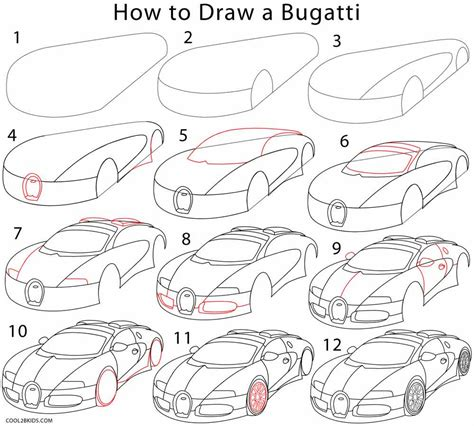 how to draw a car 8 steps with pictures wikihow how to draw a bugatti step by step pictures cool2bkids