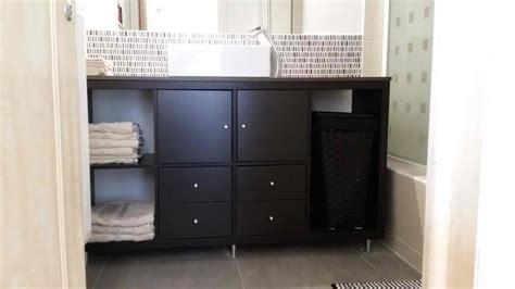 ikea bathroom vanity kallax bathroom vanity for small bathroom ikea hackers