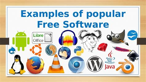 free program what is the free software and its importance in technology