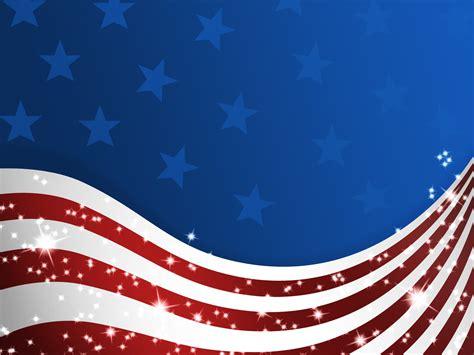 american patriotic flag ppt ppt backgrounds blue flag