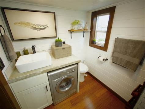 Small Bathroom Ideas In 8 tiny house bathrooms packed with style hgtv s
