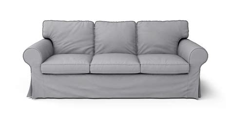 ikea sofa slipcovers discontinued ikea ektorp 3 seater sofa bed slipcover only in gaia fog 100
