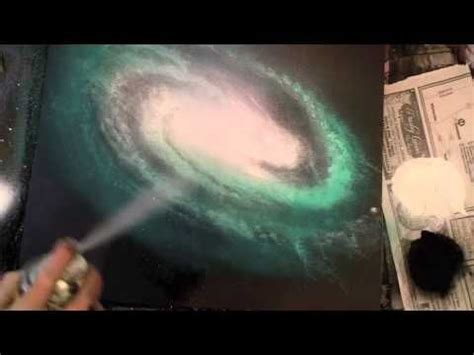 spray paint underwater how to spray paint a spiral galaxy and underwater