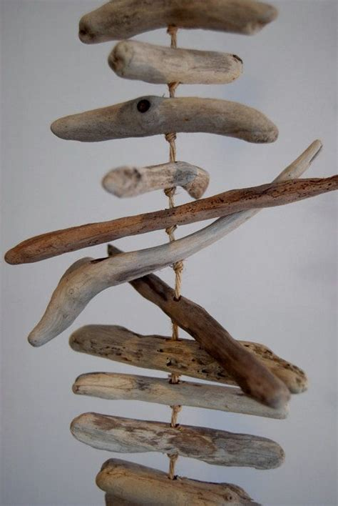 driftwood projects crafts driftwood mobile mobiles and crafts on