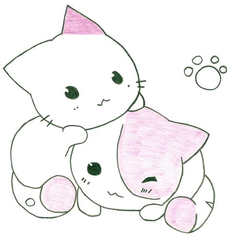 cat easy two cats by steamzocker1 on deviantart drawings