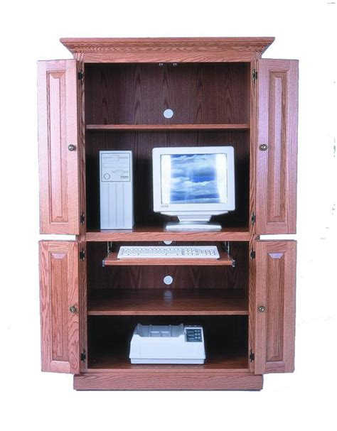 amish computer armoire amish 40 quot computer armoire desk