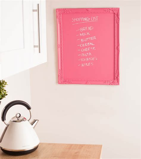 chalkboard paint pink canned style personalise and organise your kitchen
