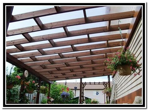 pergola clear roof 1000 images about pergola with roof on