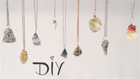 how to make jewelry with stones diy wire wrapped pendant 3 ways