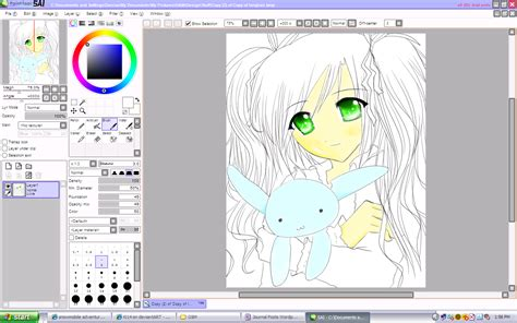 paint tool sai pack painttoolsai 1 1 0 version software