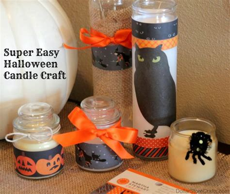 dollar store crafts tutorial easy candles 187 dollar store crafts