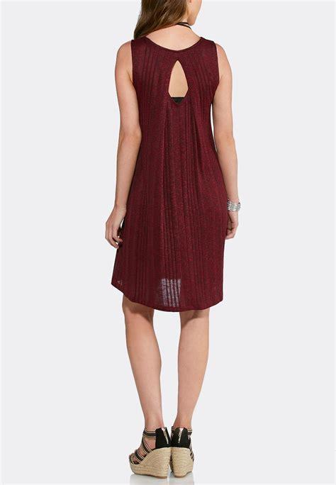 knit swing dress ribbed knit swing dress plus a line swing cato fashions