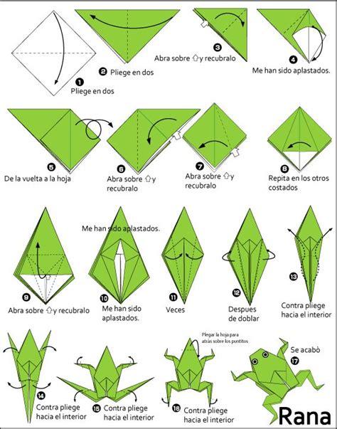 frog origami de 25 bedste id 233 er inden for origami frog p 229