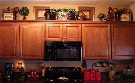 not just kitchen ideas decorating above kitchen cabinets pictures decor