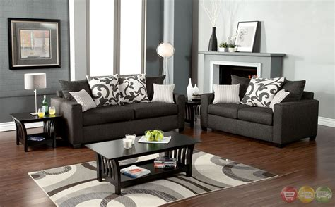grey living room set colebrook contemporary medium gray living room set with