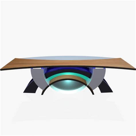 tv studio desk tv studio news desk 2 3d model furniture 3d models