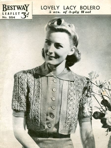 vintage knit the appeal of vintage knitting patterns the knit box