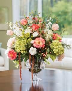 silk centerpieces garden silk flower centerpiece at petals