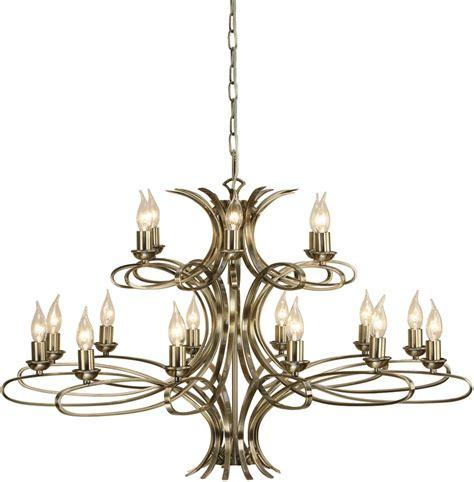 large chandelier penn contemporary 18 light large brushed brass chandelier